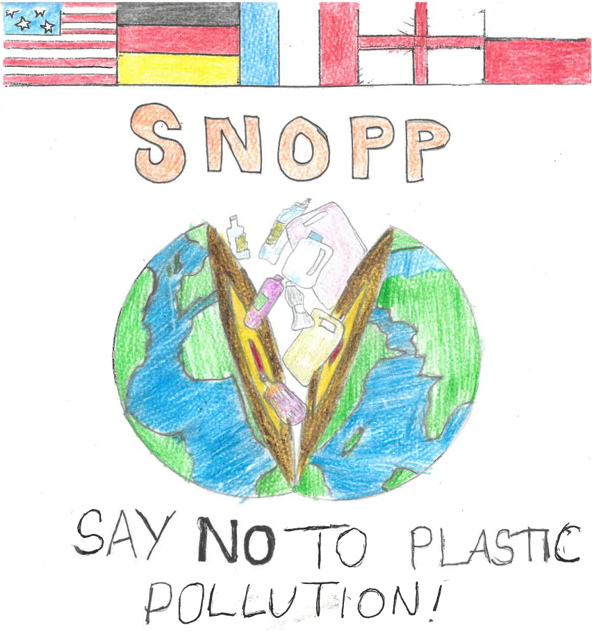 Logo: Say No to Plastic Pollution